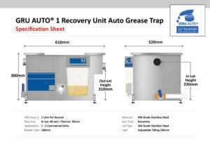 GRU-Auto1 Automatic Grease Trap