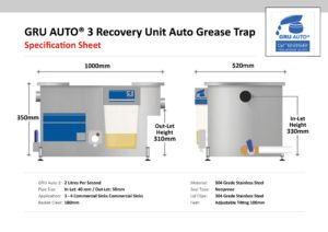 GRU-Auto3 Automatic Grease Trap