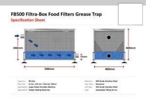 FB 500 Filtra-Box Food Filters