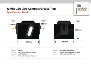 Jumbo 300 Litre Compact Grease Trap