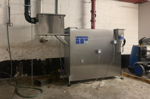 Industrial GRU Grease Recovery Unit Park Lane London